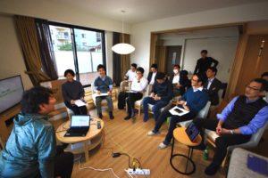 事業家を志すメンバーによる「事業リーダー合宿」in熱海