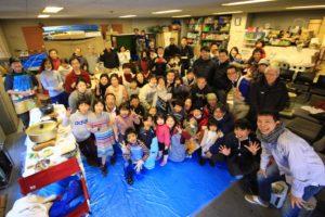 仲間を支えてくれるご家族への感謝祭-餅つき大会-