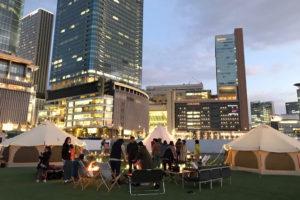 都会の真ん中「うめきた」でショートグランピング!|Urban Winter Camp -DAY1-